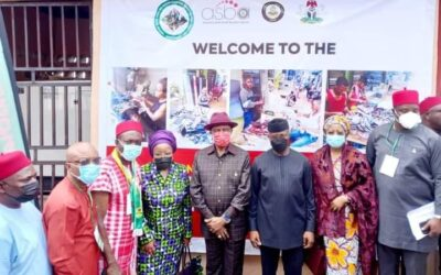 VICE PRESIDENT, PROFESSOR YEMI OSIBANJO COMMISSIONS FGN/ANSG ONE-STOP-SHOP AND SHARED FACILITY AT OGBUNIKE, OYI LGA, ANAMBRA STATE